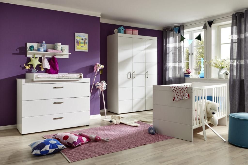 Babyzimmer Luca 3-teilig weiß