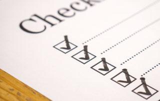 Checkliste Wohnungseinrichtung
