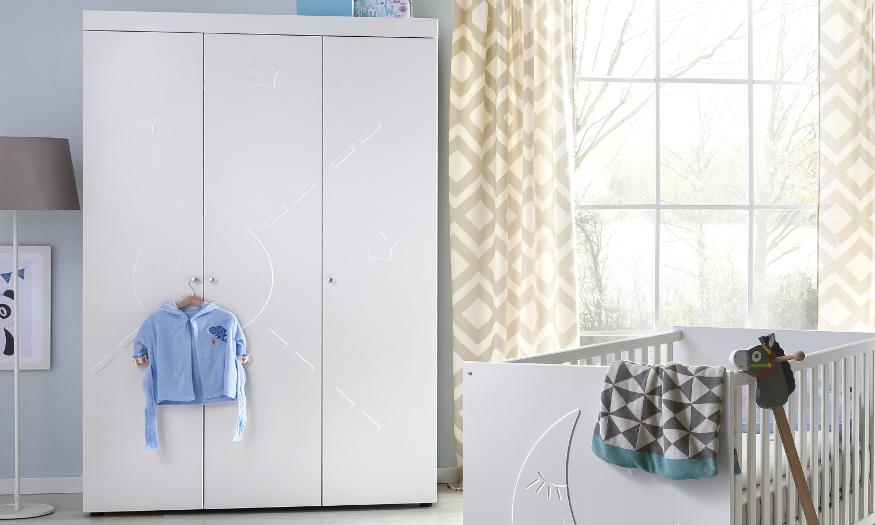 Kinderzimmer: Günstige Kleiderschränke online kaufen