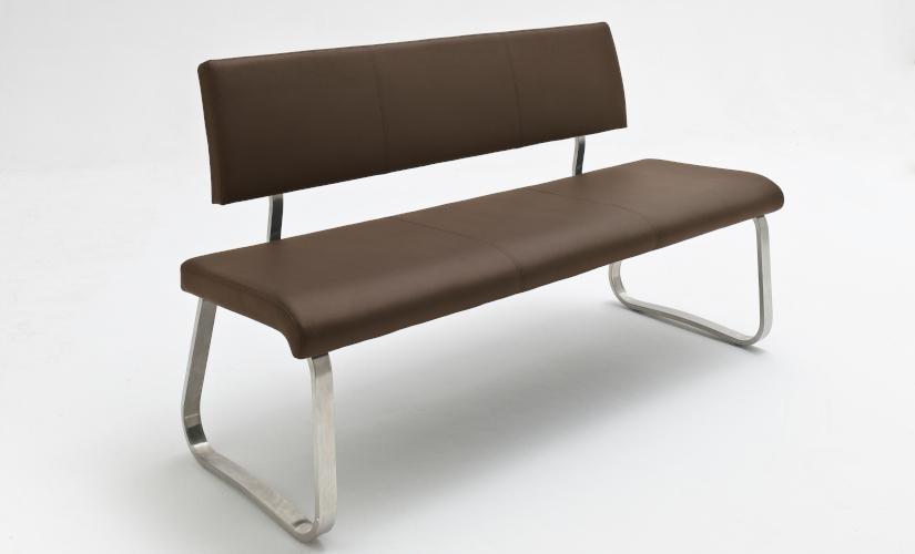 Sitzbänke Leder braun