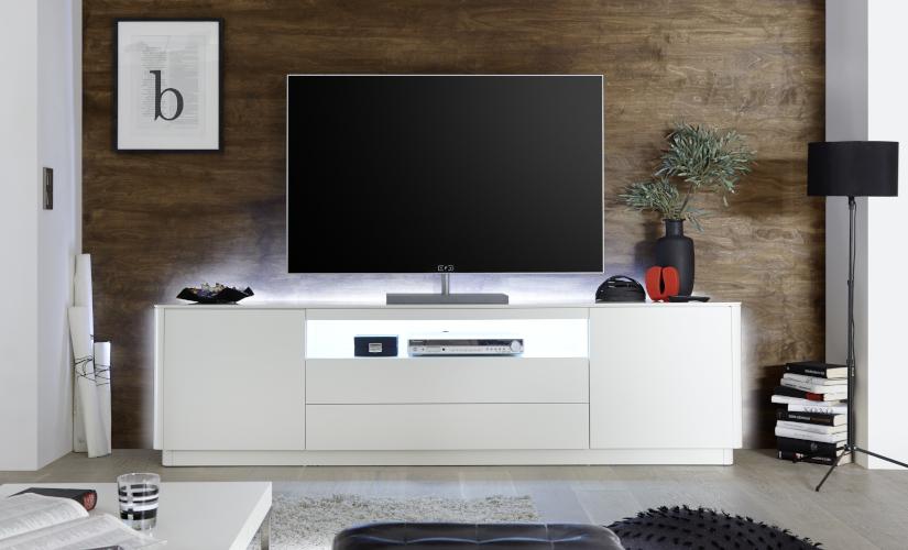 TV Lowboard weiß