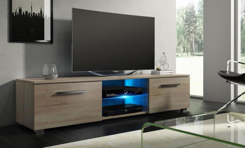 TV Lowboard Holz
