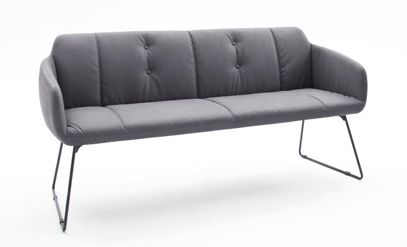 Sitzbänke mit Lehne