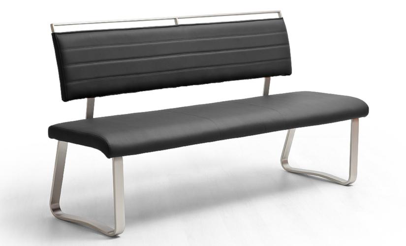 Sitzbänke schwarz