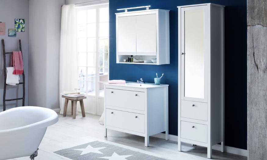 Das Badezimmer im Landhausstil