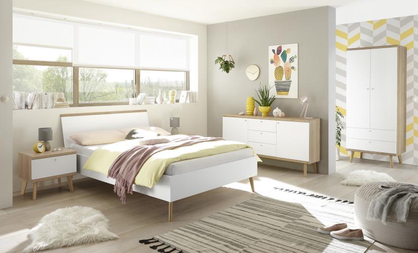Möbel für ein hyggeliges Schlafzimmer