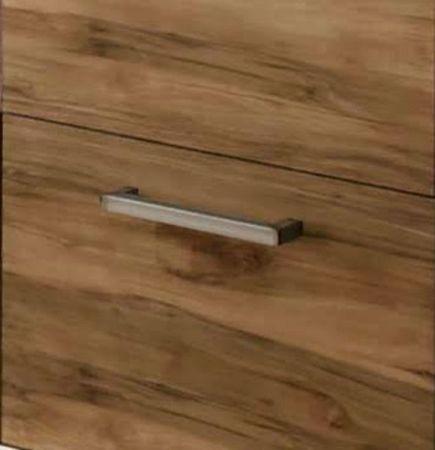 Sideboard Montreal in Nussbaum Satin Anrichte 206 x 101 cm Kommode mit Aufsatz