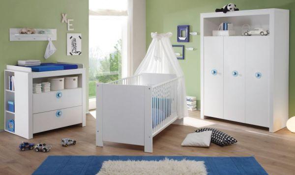 "Babyzimmer komplett ""Olivia"" 5-teilig, Jungen"