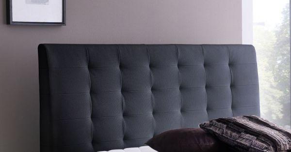Boxspringbett Claudine 180 x 200 cm Leder Optik schwarz 7 Zonen Tonnentaschenfederkern Matratze