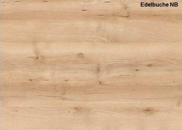 Couchtisch in Buche / Edelbuche Holztisch 110 x 47 cm Wohnzimmertisch mit Ablage