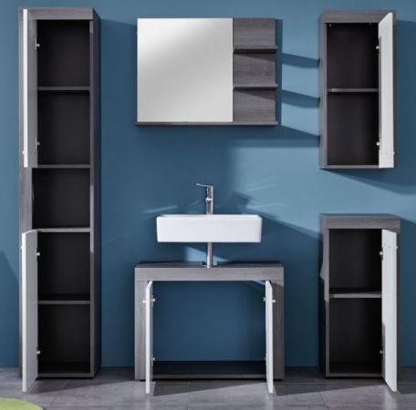 badm bel miami wei silber g nstig online kaufen. Black Bedroom Furniture Sets. Home Design Ideas