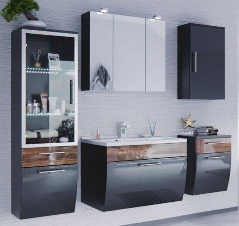 badm bel unterschrank salona in anthrazit walnuss. Black Bedroom Furniture Sets. Home Design Ideas