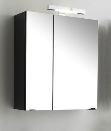 Badmöbel Spiegelschrank Laonda inkl. Beleuchtung in Anthrazit