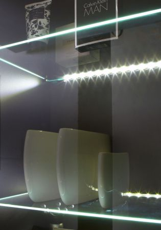 Badmöbel Set Rima weiß Anthrazit Hochglanz 5-teilig inkl. Waschbecken und Beleuchtung