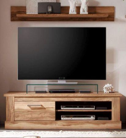 TV-Unterteil Lowboard Montreal in Nussbaum Satin 146 x 45 cm