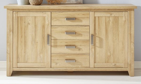 Sideboard Kommode in Eiche / Alteiche Dekor Anrichte 174 cm Canyon
