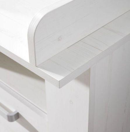 babyzimmer komplett set miri pinie struktur wei. Black Bedroom Furniture Sets. Home Design Ideas