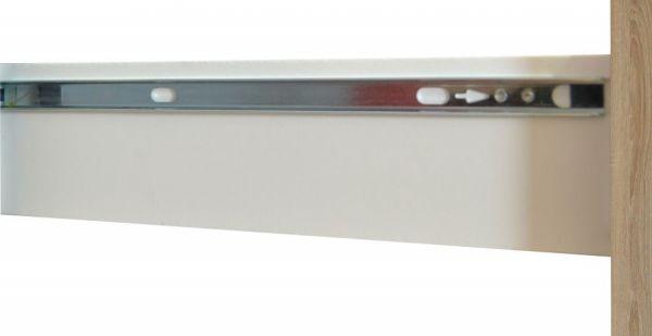 Küchenblock Einbauküche Classic 300 cm Einbauküche inkl. E-Geräte und Apothekerschrank in Eiche Sonoma