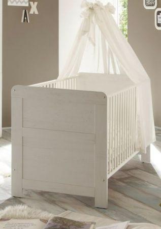 Bettumbauseiten Set weiß für Babybett Landi Umbau Juniorbett