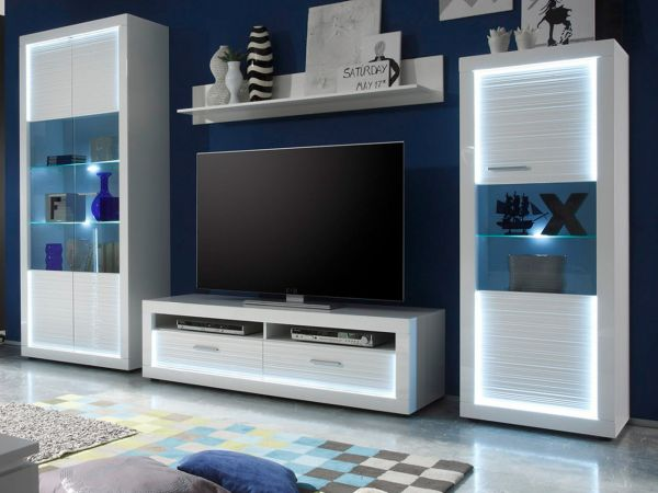 wandboard wandregal starlight in hochglanz wei. Black Bedroom Furniture Sets. Home Design Ideas