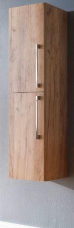 Bad Hängeschrank Hochschrank Intenso Eiche Trüffel 32x140 cm