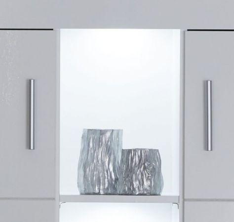 Highboard Kito Hochglanz weiß Kommode 130 x 123 cm