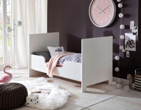 Bettumbauseiten Set weiß für Babybett Olivia und Ole Umbau Juniorbett
