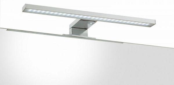 Badmöbel Set Nano in weiß Hochglanz und Stone Design grau Badkombination 4-teilig 107 x 182 cm