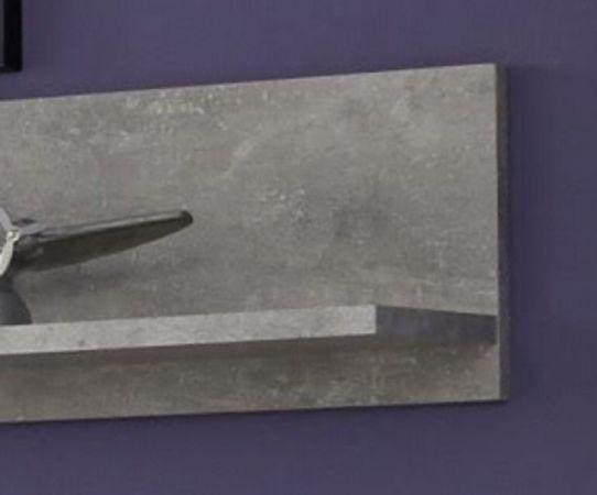 Wandboard Rock in grau Stone Design Wandregal 148 x 18 cm