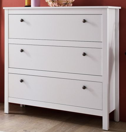 flur kommode ole wei 92 x 98 cm. Black Bedroom Furniture Sets. Home Design Ideas