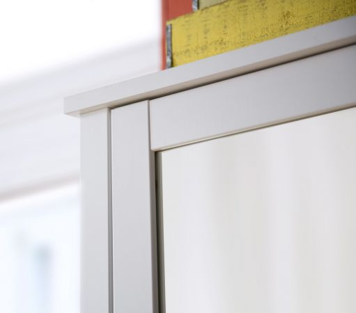 Garderobenset 5-teilig weiß Garderobenkombination Ole mit Schuhbank und Schrank 265 cm