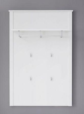 """Garderobenpaneel """"Ole"""" weiß 81 x 122 cm"""