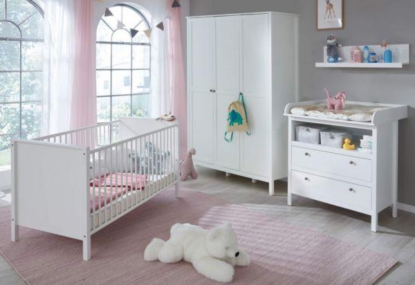 babyzimmer ole komplett set 4 teilig. Black Bedroom Furniture Sets. Home Design Ideas