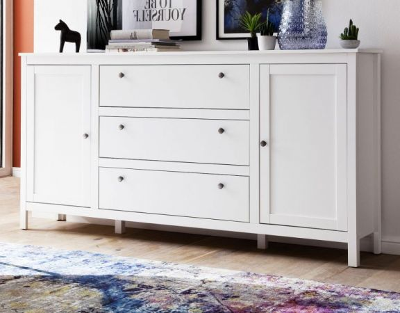 Kommode Ole in weiss Sideboard 183 x 98 cm