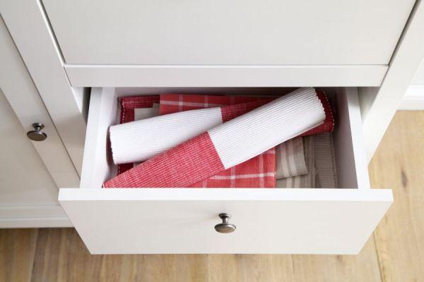 Kommode Ole in weiß 96 x 98 cm für Flur Esszimmer und Wohnzimmer