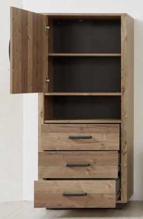 Kommode Lodge in Bramberg Fichte Highboard 69 x 155 cm