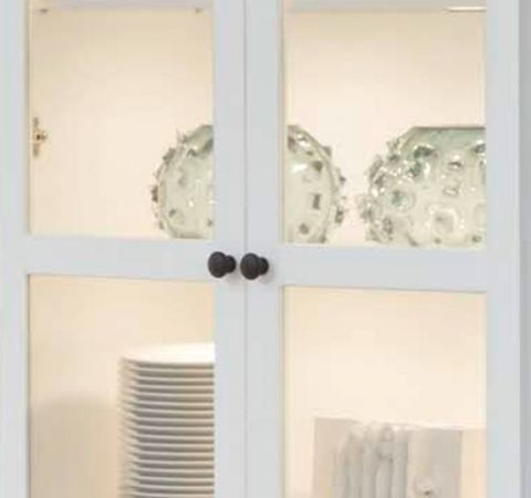 """Wohnwand """"Baxter"""" 4-teilig weiß Landhaus 331 x 196 cm"""