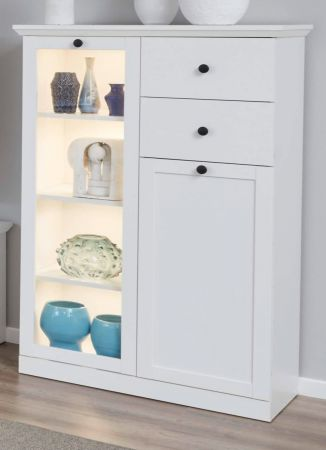 Highboard Baxter in weiss 81 cm