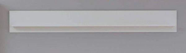Wandboard Baxter in weiß Landhaus Wandregal 139 x 21 cm Bücherregal