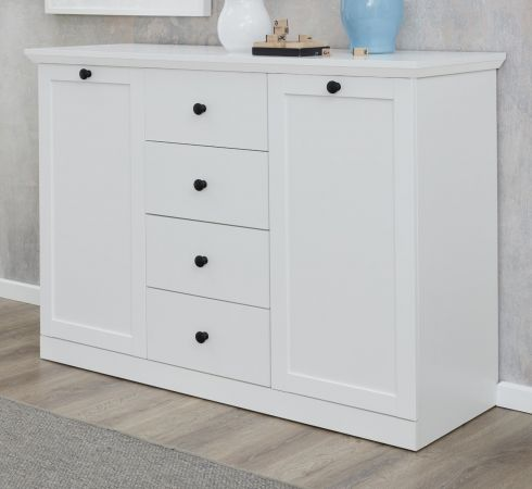 Sideboard Baxter in weiss Kommode 119 cm