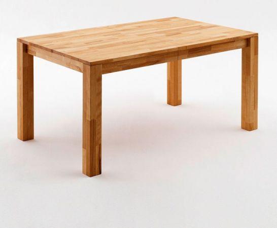 Esstisch Paul in Kernbuche massiv geölt Küchentisch 140 / 180 / 220 x 80 cm Tisch ausziehbar