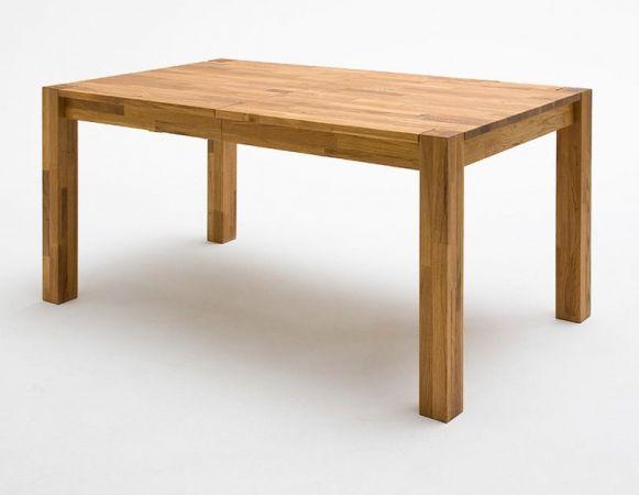 Esstisch Peter in Kernbuche massiv geölt Küchentisch 140 / 180 / 220 x 80 cm Tisch ausziehbar