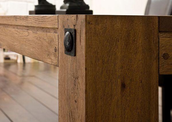 Esstisch Leeds in Eiche Bassano massiv matt lackiert Küchentisch Massivholztisch 180 x 90 cm