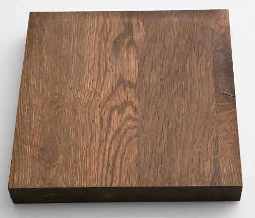 Esstisch Leeds in Eiche verwittert massiv matt lackiert Massivholztisch 180 x 90 cm