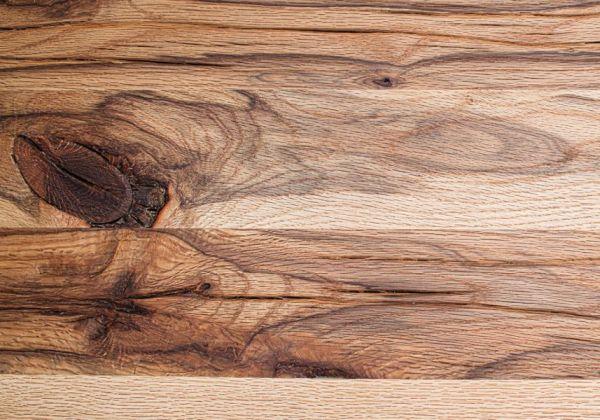 Esstisch Leeds in Wildeiche massiv matt lackiert Massivholztisch 180 x 90 cm