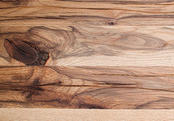 Esstisch Leeds in Wildeiche massiv matt lackiert Massivholztisch 220 x 100 cm