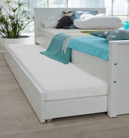Kinderzimmer / Jugendzimmer komplett Set Ole 5-teilig Landhaus weiß mit XXL-Kleiderschrank