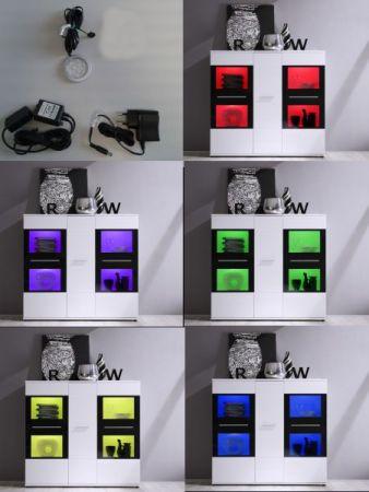 Unterbauspot Farbwechsel 1er Set Möbelleuchte Unterbauleuchte RGB