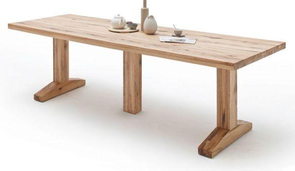 Esstisch Lunch in Wildeiche massiv matt lackiert Massivholztisch 300 x 120 cm