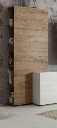 Aufsatzregal für TV-Lowboard Vicenza in Eiche hell Regal 55 x 145 cm